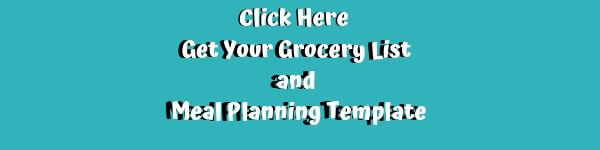 Master Grocery List and Meal Planning Template-Free Printable