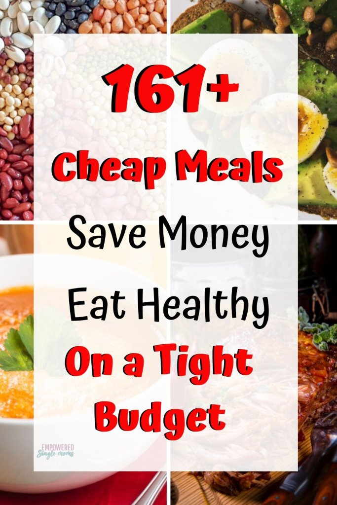 Dirt cheap meals on a tight budget. These poverty meals are delicious and cheap