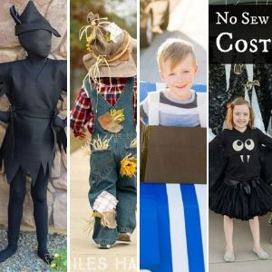 Halloween costumes no sewing