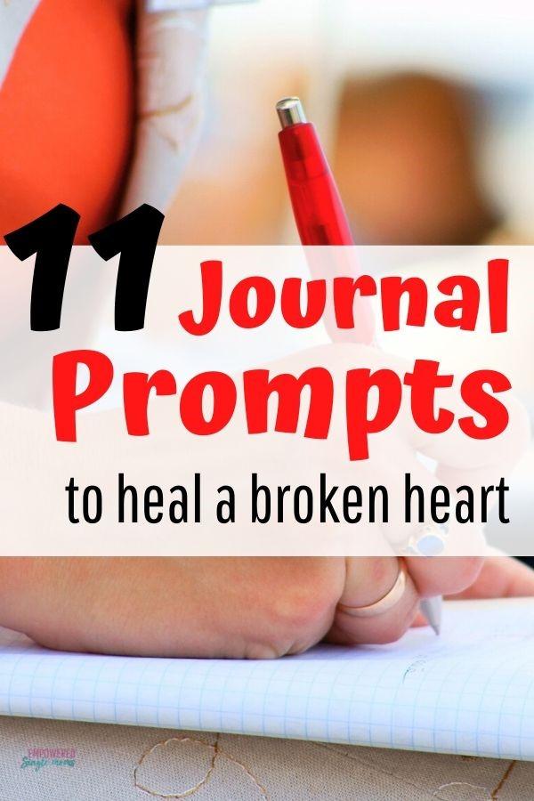 breakup journaling