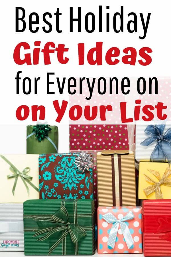 christmas gift ideas for men, women and children