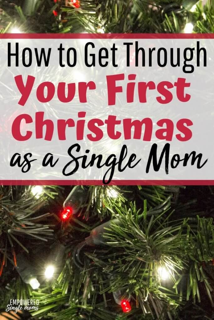 how single parents cope with christmas