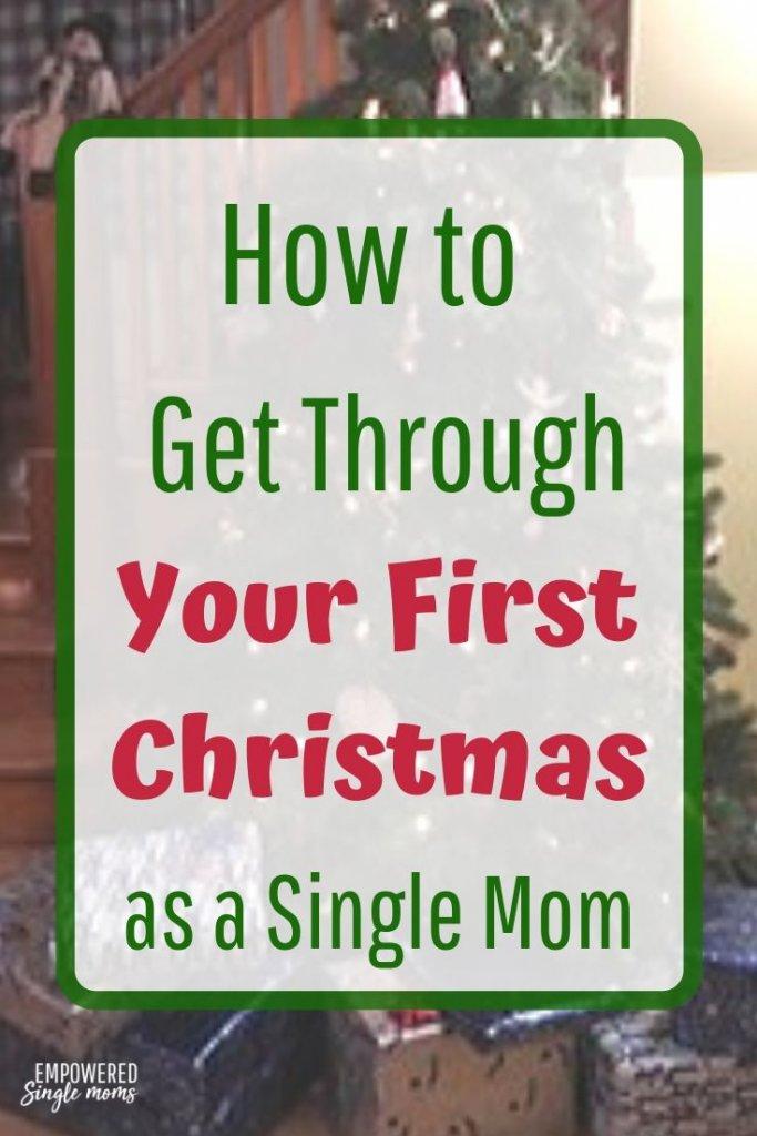 Single mom's first Christmas ideas