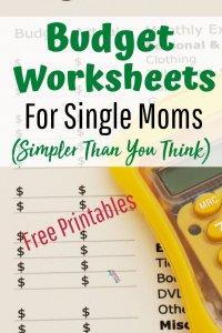 Free budget templates