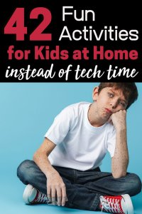 Fun ideas for kids to do at home