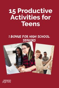 Productive activities for teenagers