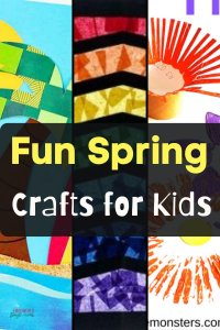 seasonal craft activities for kids spring